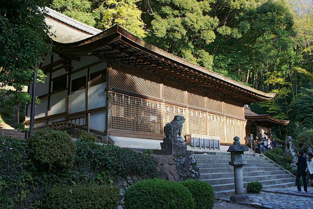 世界遺産・宇治上神社