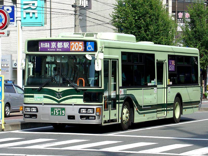京都市営バス-_Kyoto_200_ka_1519