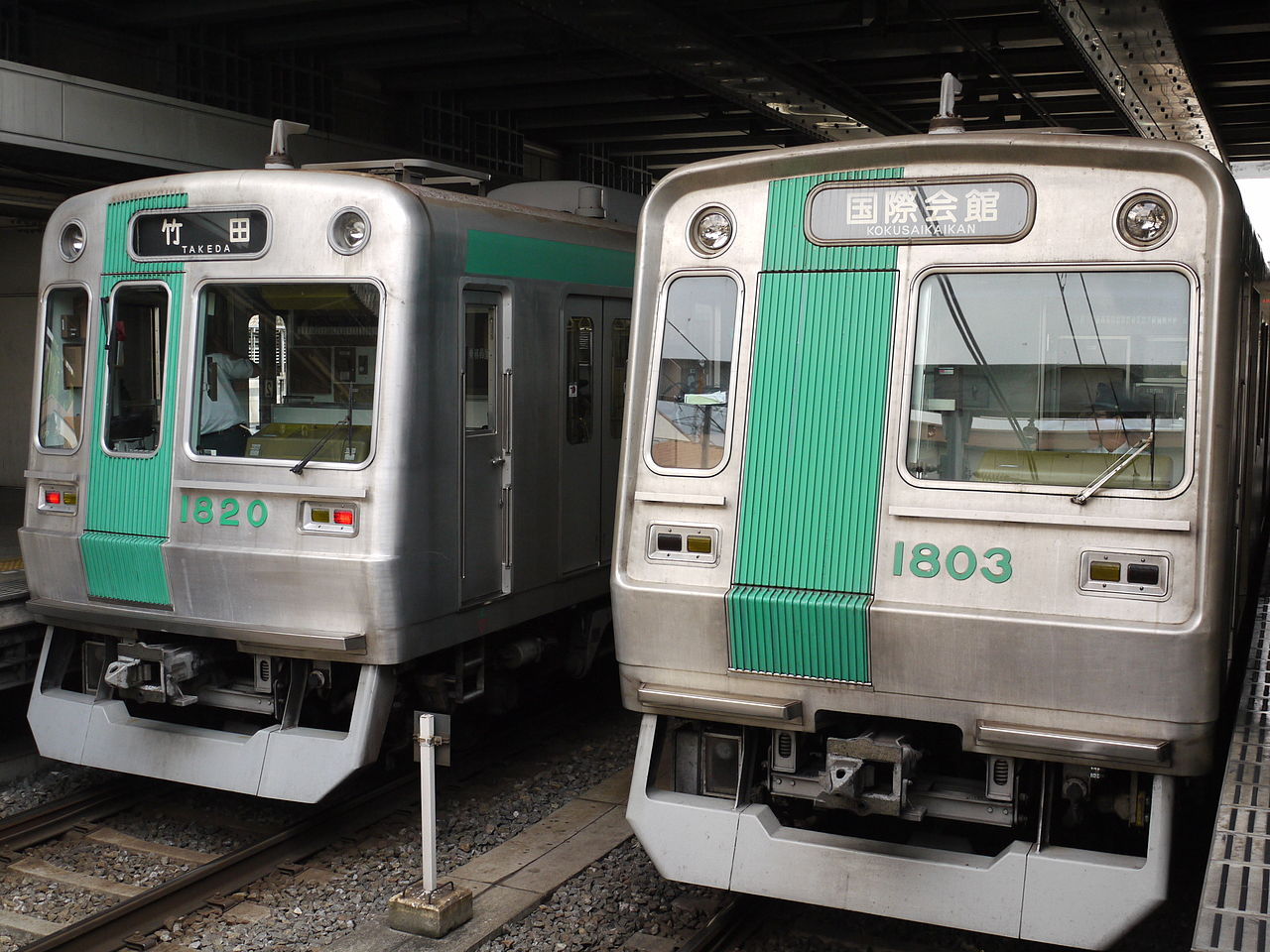 京都市営地下鉄烏丸線