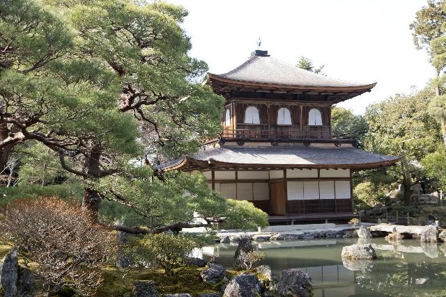 銀閣寺周辺