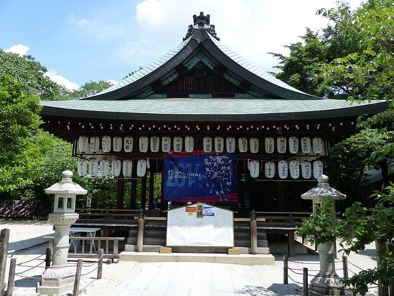 サッカーの神社