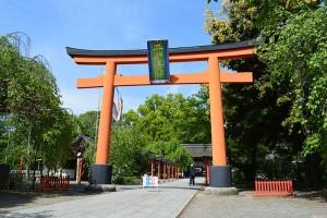 桜の名所・平野神社