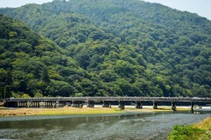嵐山渡月橋