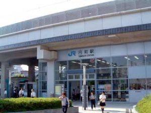 JR嵯峨野線・円町駅